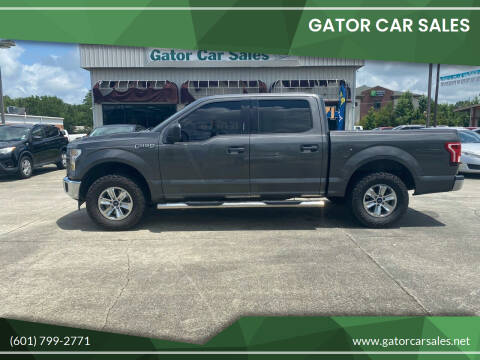 2017 Ford F-150 for sale at Gator Car Sales in Picayune MS