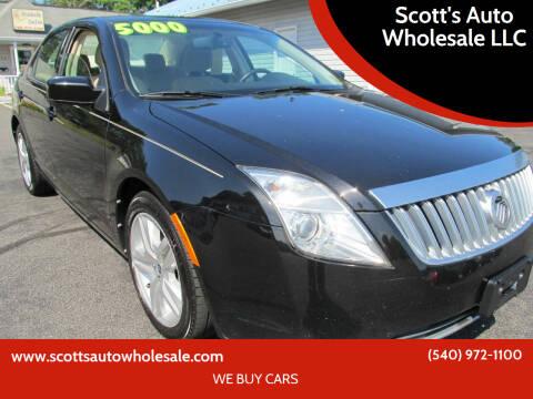2010 Mercury Milan for sale at Scott's Auto Wholesale LLC in Locust Grove VA