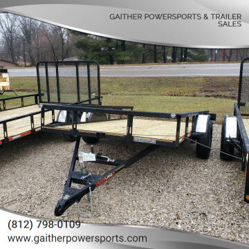 """2021 Heartland Tilt 12'x76"""" Utility for sale at Gaither Powersports & Trailer Sales in Linton IN"""
