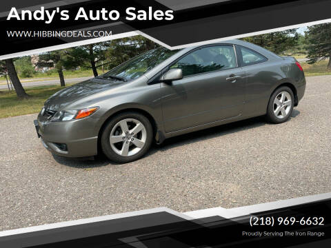 2008 Honda Civic for sale at Andy's Auto Sales in Hibbing MN