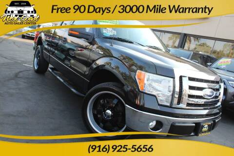 2010 Ford F-150 for sale at West Coast Auto Sales Center in Sacramento CA