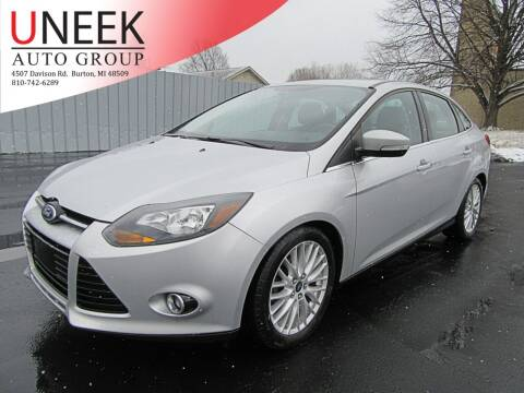 2013 Ford Focus for sale at Uneek Auto Group LLC in Burton MI