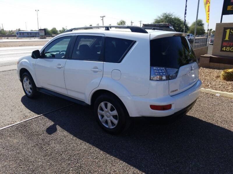 2012 Mitsubishi Outlander for sale at 1ST AUTO & MARINE in Apache Junction AZ