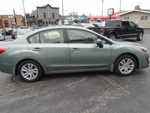 2016 Subaru Impreza for sale at NORTHLAND AUTO SALES in Dale WI