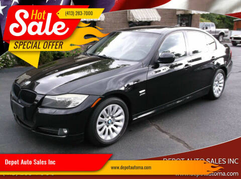 2009 BMW 3 Series for sale at Depot Auto Sales Inc in Palmer MA