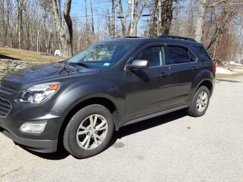 2017 Chevrolet Equinox for sale at Cappy's Automotive in Whitinsville MA