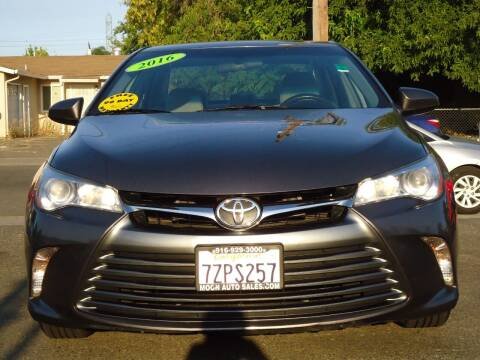 2016 Toyota Camry for sale at Moon Auto Sales in Sacramento CA