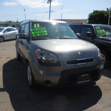 2011 Kia Soul for sale at Luxor Motors Inc in Pacoima CA