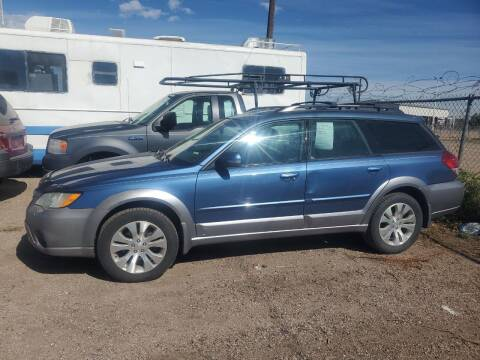 2008 Subaru Outback for sale at PYRAMID MOTORS - Fountain Lot in Fountain CO