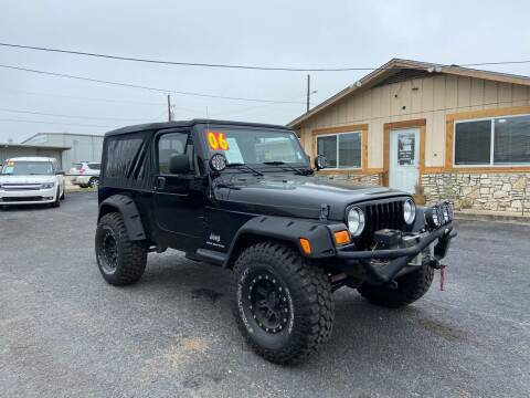 2006 Jeep Wrangler for sale at The Trading Post in San Marcos TX