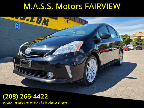 2012 Toyota Prius v for sale at M.A.S.S. Motors - Fairview in Boise ID