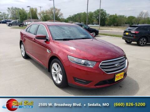 2018 Ford Taurus for sale at RICK BALL FORD in Sedalia MO