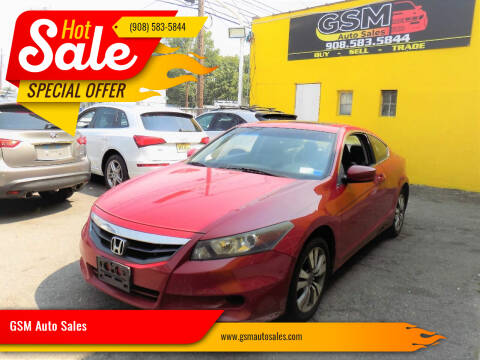 2011 Honda Accord for sale at GSM Auto Sales in Linden NJ