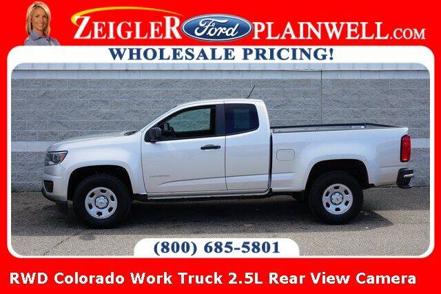 2018 Chevrolet Colorado for sale at Zeigler Ford of Plainwell- Jeff Bishop in Plainwell MI