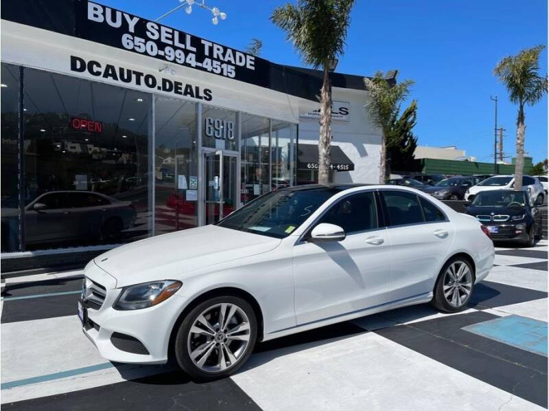 2018 Mercedes-Benz C-Class for sale at AutoDeals in Daly City CA