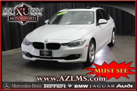 2013 BMW 3 Series for sale at Luxury Motorsports in Phoenix AZ