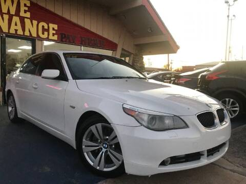 2010 BMW 5 Series for sale at Caspian Auto Sales in Oklahoma City OK