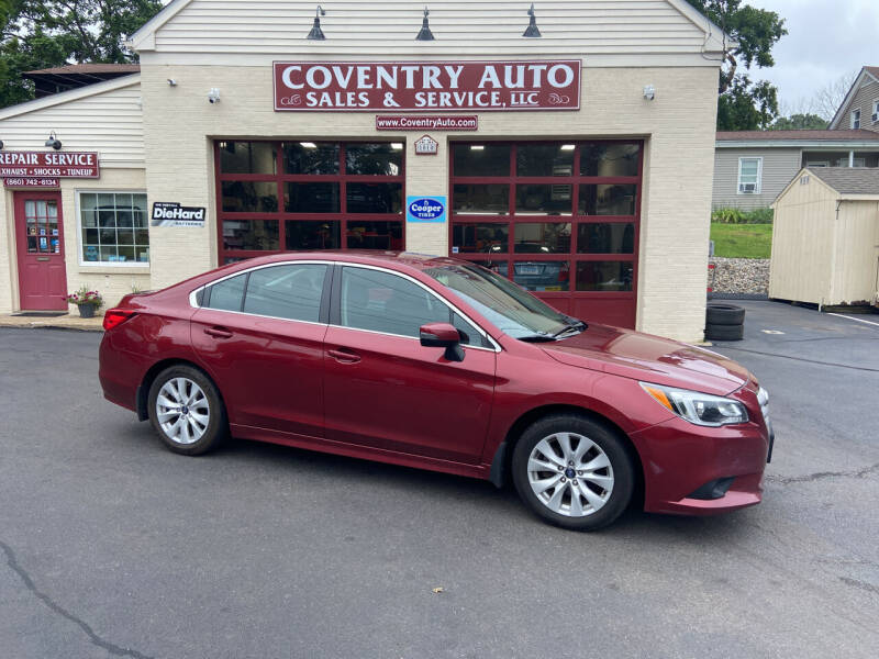 2015 Subaru Legacy for sale at COVENTRY AUTO SALES in Coventry CT
