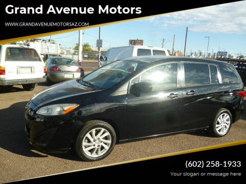 2012 Mazda MAZDA5 for sale at Grand Avenue Motors in Phoenix AZ
