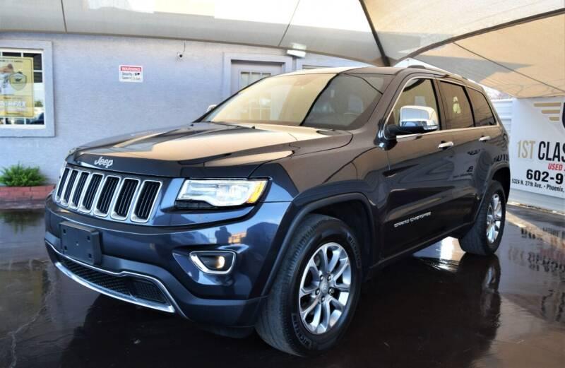 2016 Jeep Grand Cherokee for sale at 1st Class Motors in Phoenix AZ