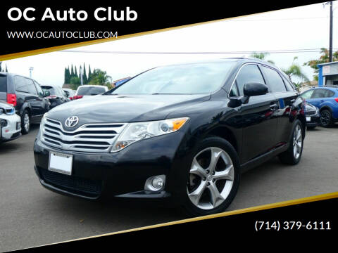 2011 Toyota Venza for sale at OC Auto Club in Midway City CA