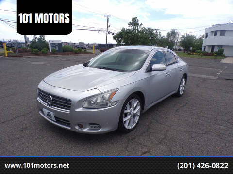 2009 Nissan Maxima for sale at 101 MOTORS in Hasbrouck Height NJ