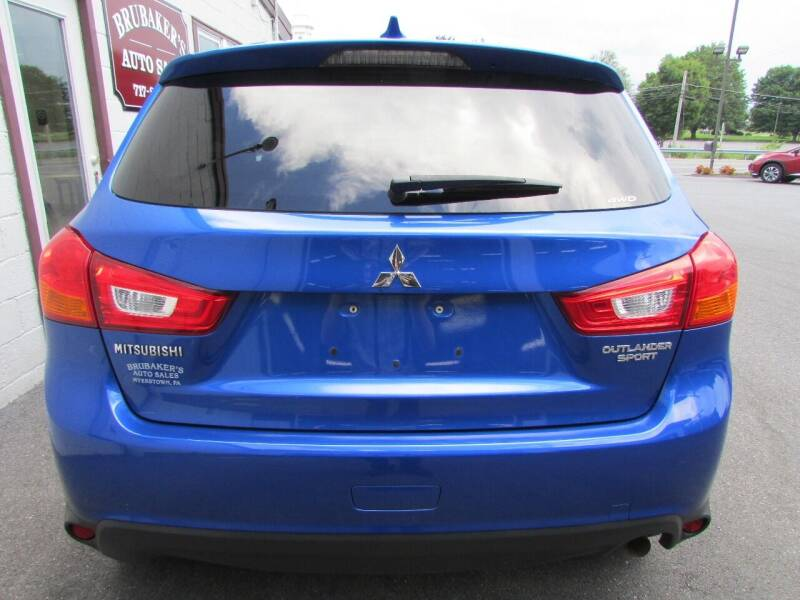 2017 Mitsubishi Outlander Sport for sale at Brubakers Auto Sales in Myerstown PA