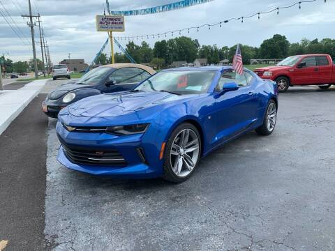 2018 Chevrolet Camaro for sale at Ultimate Auto Sales in Crown Point IN