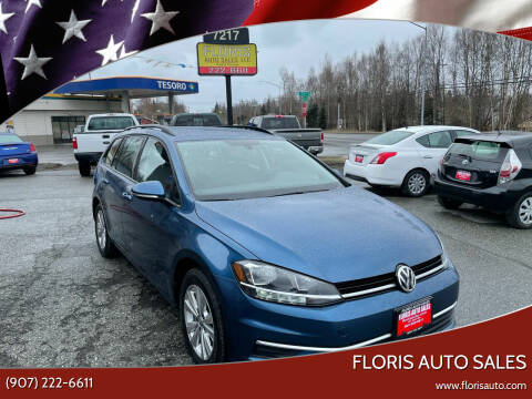 2019 Volkswagen Golf SportWagen for sale at FLORIS AUTO SALES in Anchorage AK