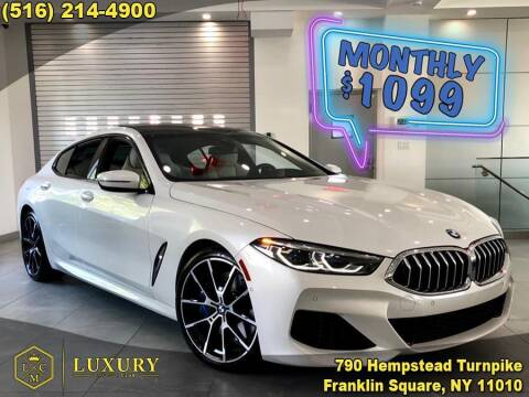 2021 BMW 8 Series for sale at LUXURY MOTOR CLUB in Franklin Square NY