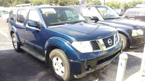 2006 Nissan Pathfinder for sale at Tony's Auto Sales in Jacksonville FL