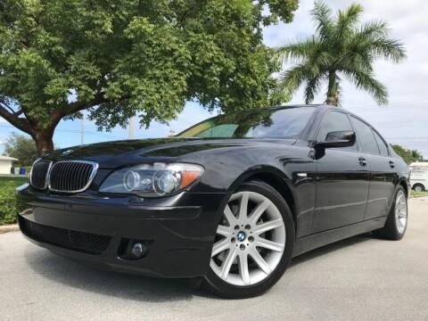 2006 BMW 7 Series for sale at DS Motors in Boca Raton FL