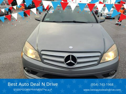 2008 Mercedes-Benz C-Class for sale at Best Auto Deal N Drive in Hollywood FL