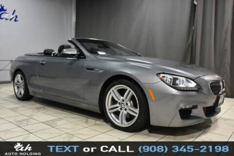 2014 BMW 6 Series for sale at AUTO HOLDING in Hillside NJ