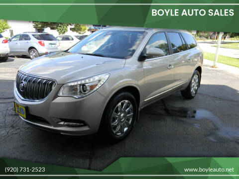 2017 Buick Enclave for sale at Boyle Auto Sales in Appleton WI