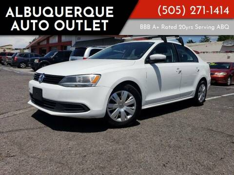 2011 Volkswagen Jetta for sale at ALBUQUERQUE AUTO OUTLET in Albuquerque NM