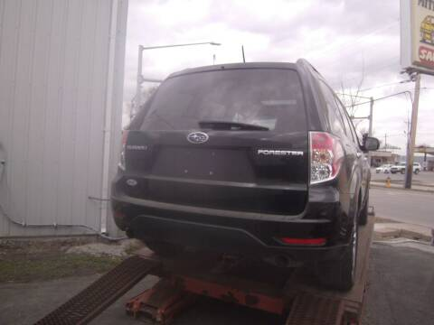 2009 Subaru Forester for sale at MITRISIN MOTORS INC in Oskaloosa IA