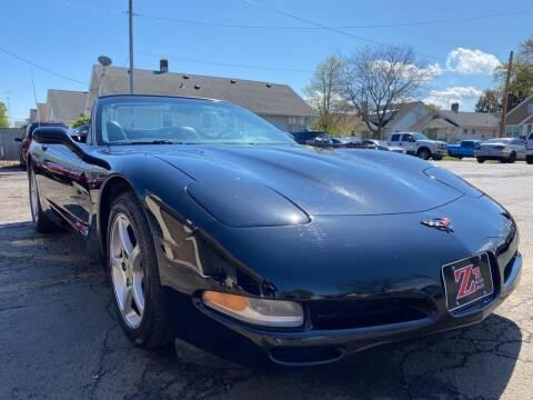 2001 Chevrolet Corvette for sale at Zs Auto Sales in Kenosha WI