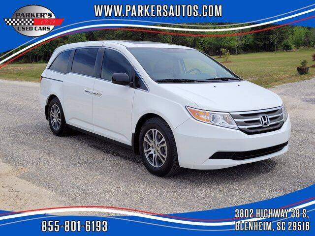2013 Honda Odyssey for sale at Parker's Used Cars in Blenheim SC