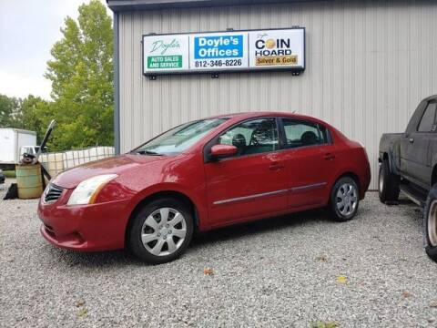 2010 Nissan Sentra for sale at Doyle's Auto Sales and Service in North Vernon IN