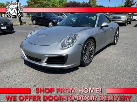2017 Porsche 911 for sale at Auto 206, Inc. in Kent WA