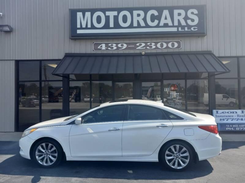 2012 Hyundai Sonata for sale at MotorCars LLC in Wellford SC