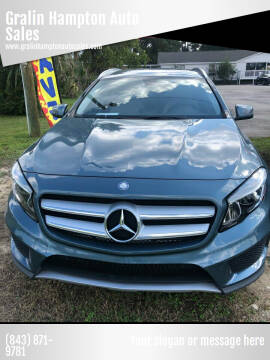 2015 Mercedes-Benz GLA for sale at Gralin Hampton Auto Sales in Summerville SC