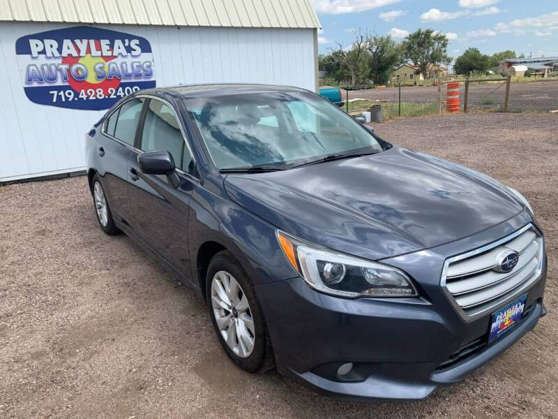 2017 Subaru Legacy for sale at Praylea's Auto Sales in Peyton CO