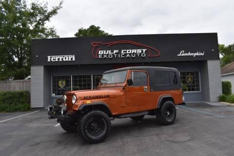 1985 Jeep Scrambler for sale at Gulf Coast Exotic Auto in Biloxi MS