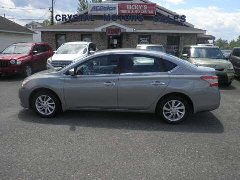 2013 Nissan Sentra for sale at CRYSTAL MOTORS SALES in Rome NY