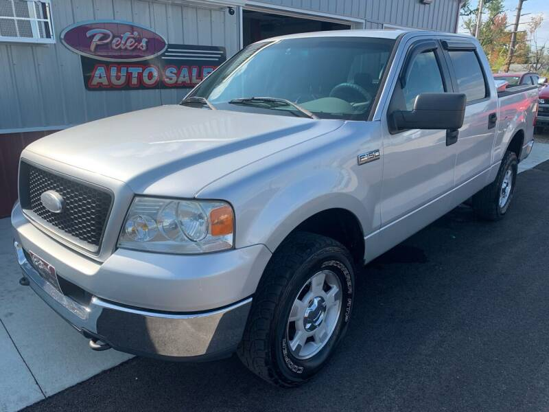 2005 Ford F-150 for sale at PETE'S AUTO SALES - Dayton in Dayton OH