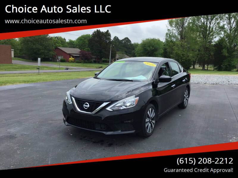 2019 Nissan Sentra for sale at Choice Auto Sales LLC in White House TN