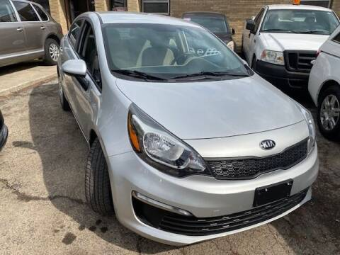 2016 Kia Rio for sale at NORTH CHICAGO MOTORS INC in North Chicago IL