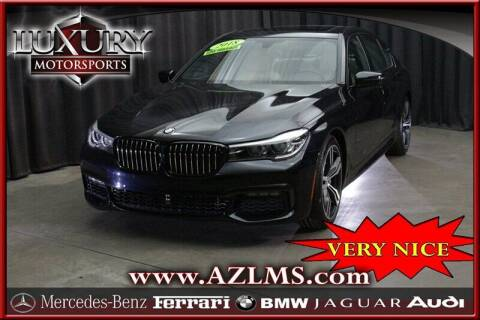 2018 BMW 7 Series for sale at Luxury Motorsports in Phoenix AZ